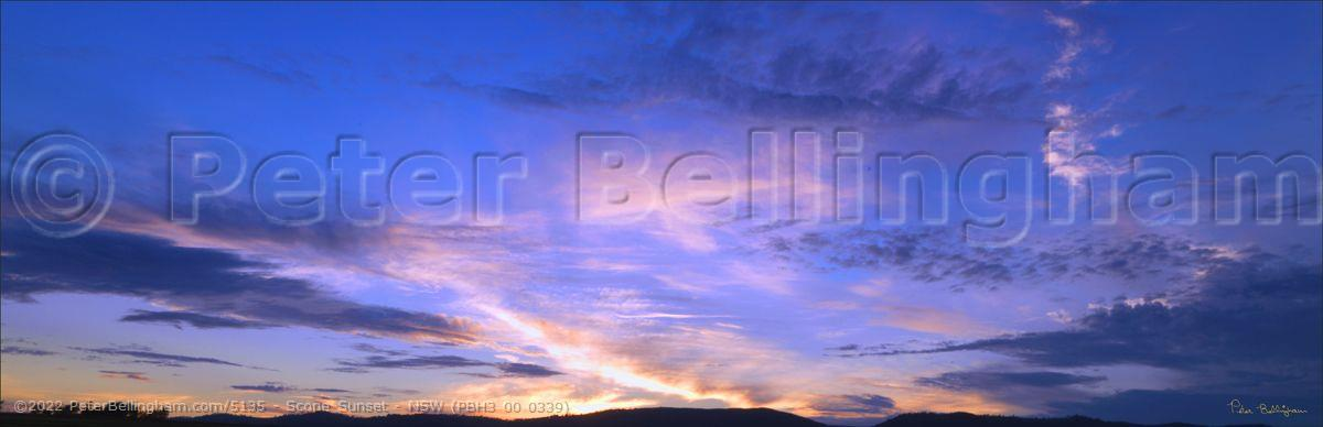 Peter Bellingham Photography Scone Sunset - NSW (PBH3 00 0339)