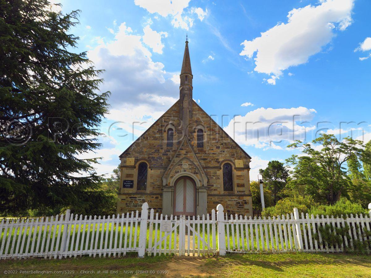 Peter Bellingham Photography Church at Hill End - NSW (PBH3 00 0399)