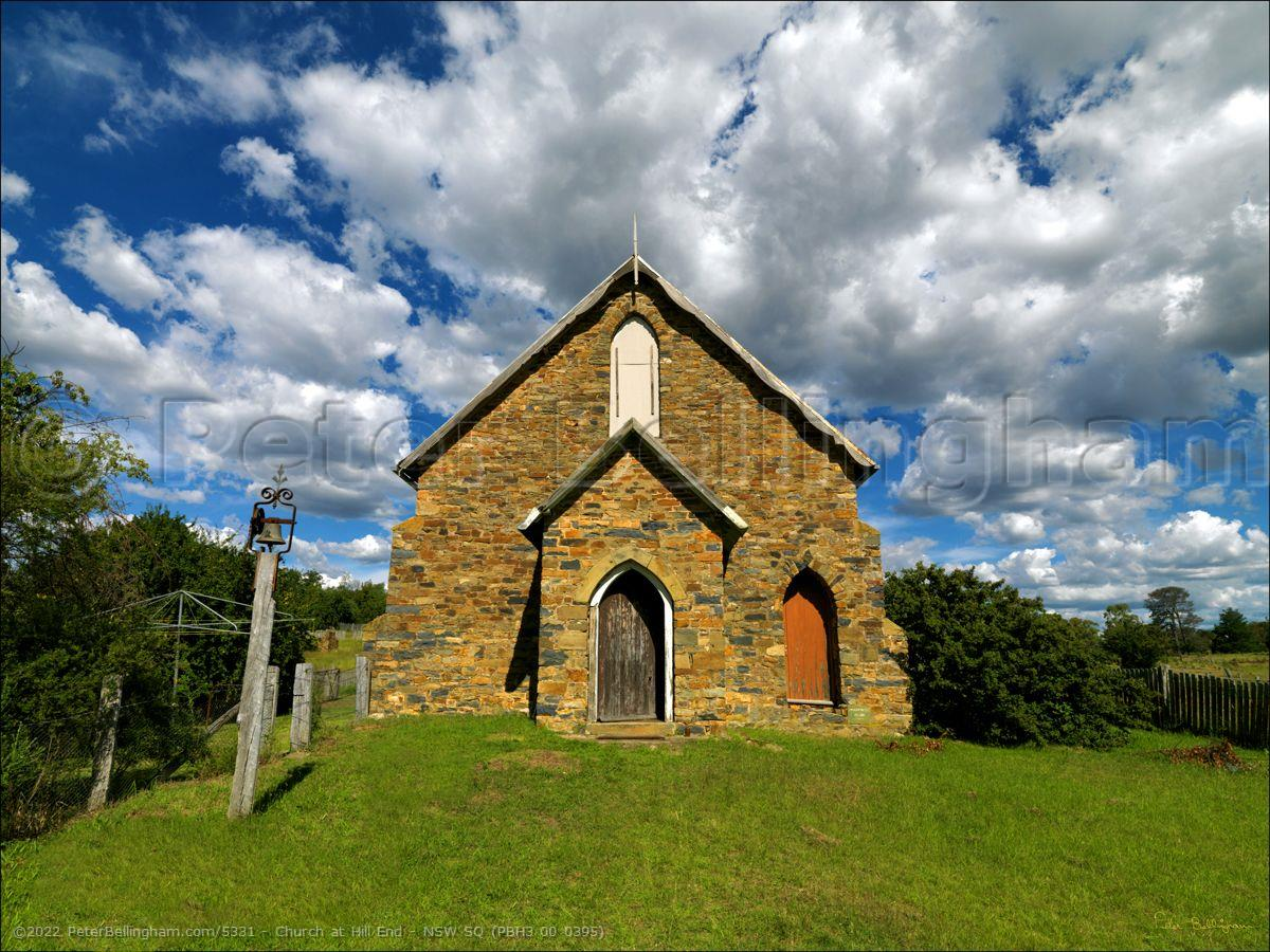 Peter Bellingham Photography Church at Hill End - NSW SQ (PBH3 00 0395)