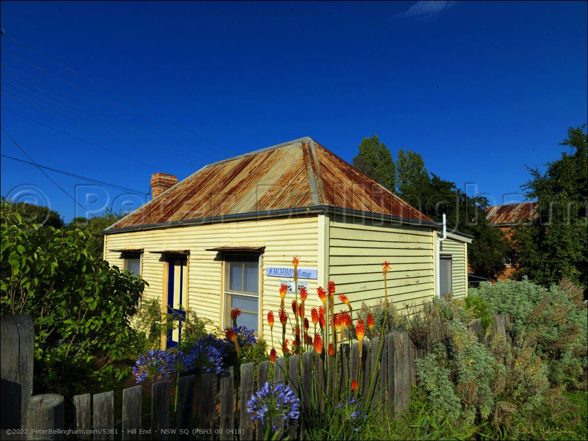 Peter Bellingham Photography Hill End - NSW SQ (PBH3 00 0418)