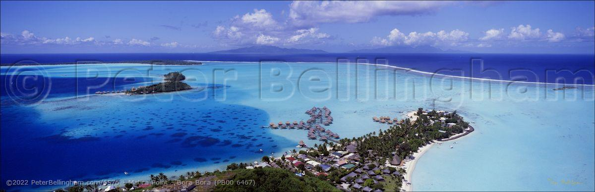 Peter Bellingham Photography Matira Point - Bora Bora (PB00 6467)