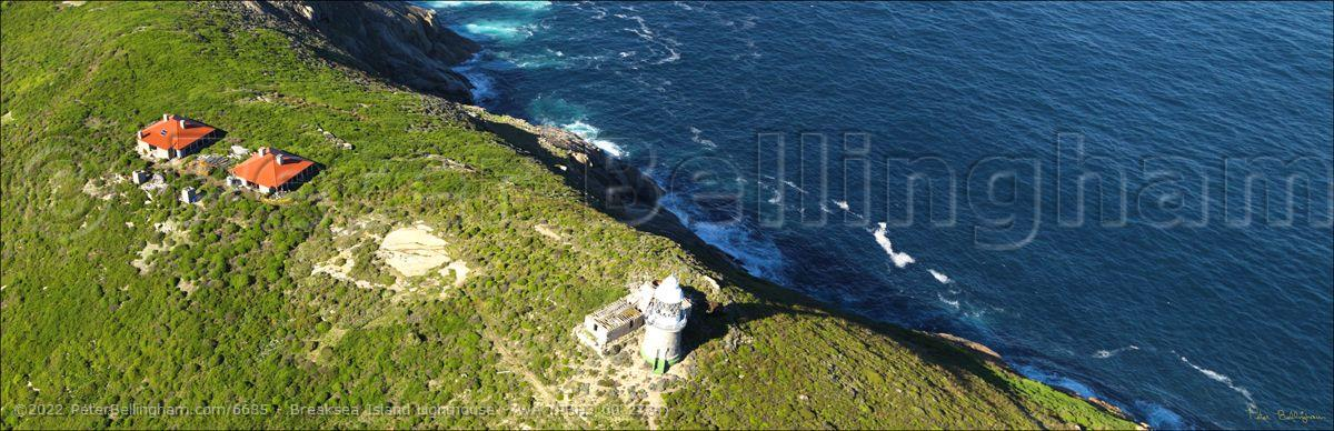 Peter Bellingham Photography Breaksea Island Lighthouse - WA (PBH3 00 2784)