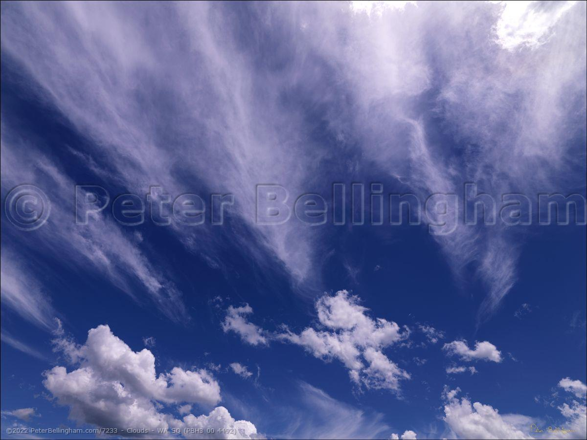 Peter Bellingham Photography Clouds - WA SQ (PBH3 00 4492)