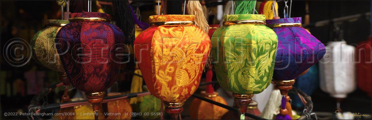 Peter Bellingham Photography Lanterns - Vietnam  H (PBH3 00 5654)