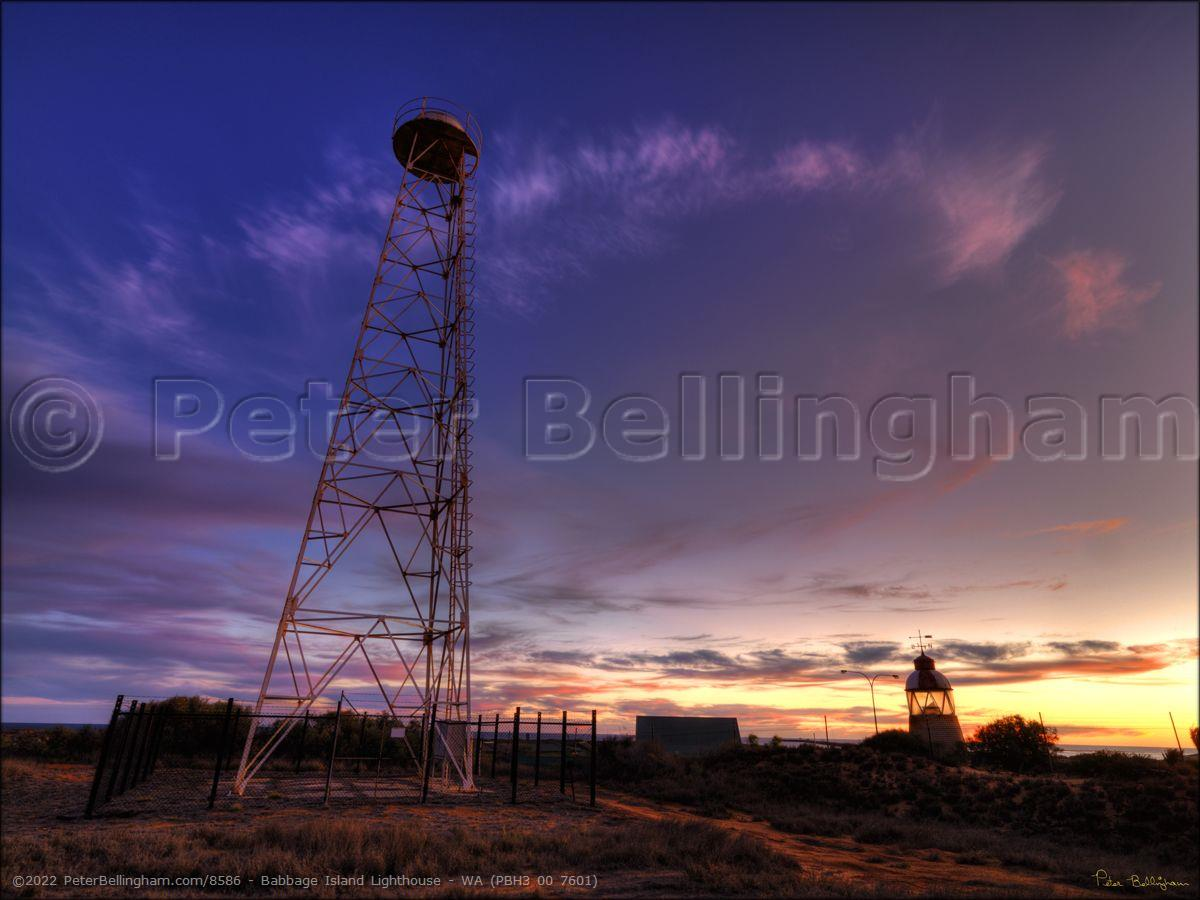 Peter Bellingham Photography Babbage Island Lighthouse - WA (PBH3 00 7601)