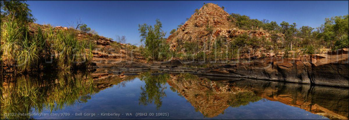 Peter Bellingham Photography Bell Gorge - Kimberley - WA  (PBH3 00 10825)
