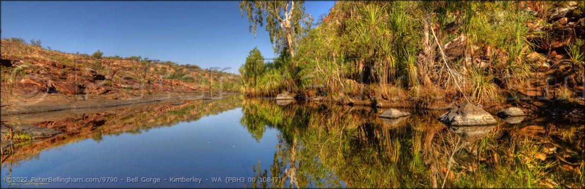 Peter Bellingham Photography Bell Gorge - Kimberley - WA (PBH3 00 10847)