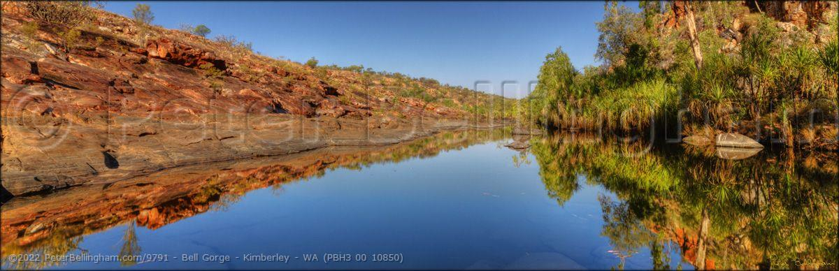 Peter Bellingham Photography Bell Gorge - Kimberley - WA (PBH3 00 10850)