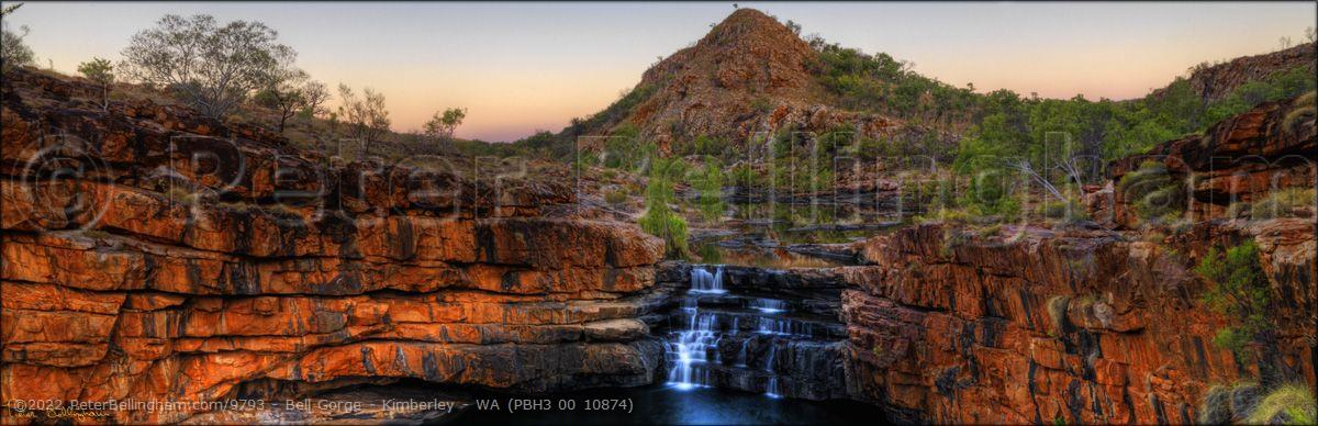 Peter Bellingham Photography Bell Gorge - Kimberley - WA (PBH3 00 10874)