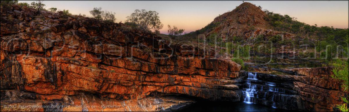 Peter Bellingham Photography Bell Gorge - Kimberley - WA (PBH3 00 10877)