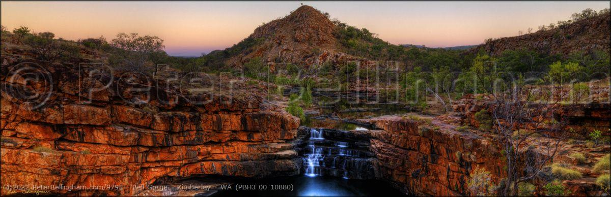Peter Bellingham Photography Bell Gorge - Kimberley - WA (PBH3 00 10880)