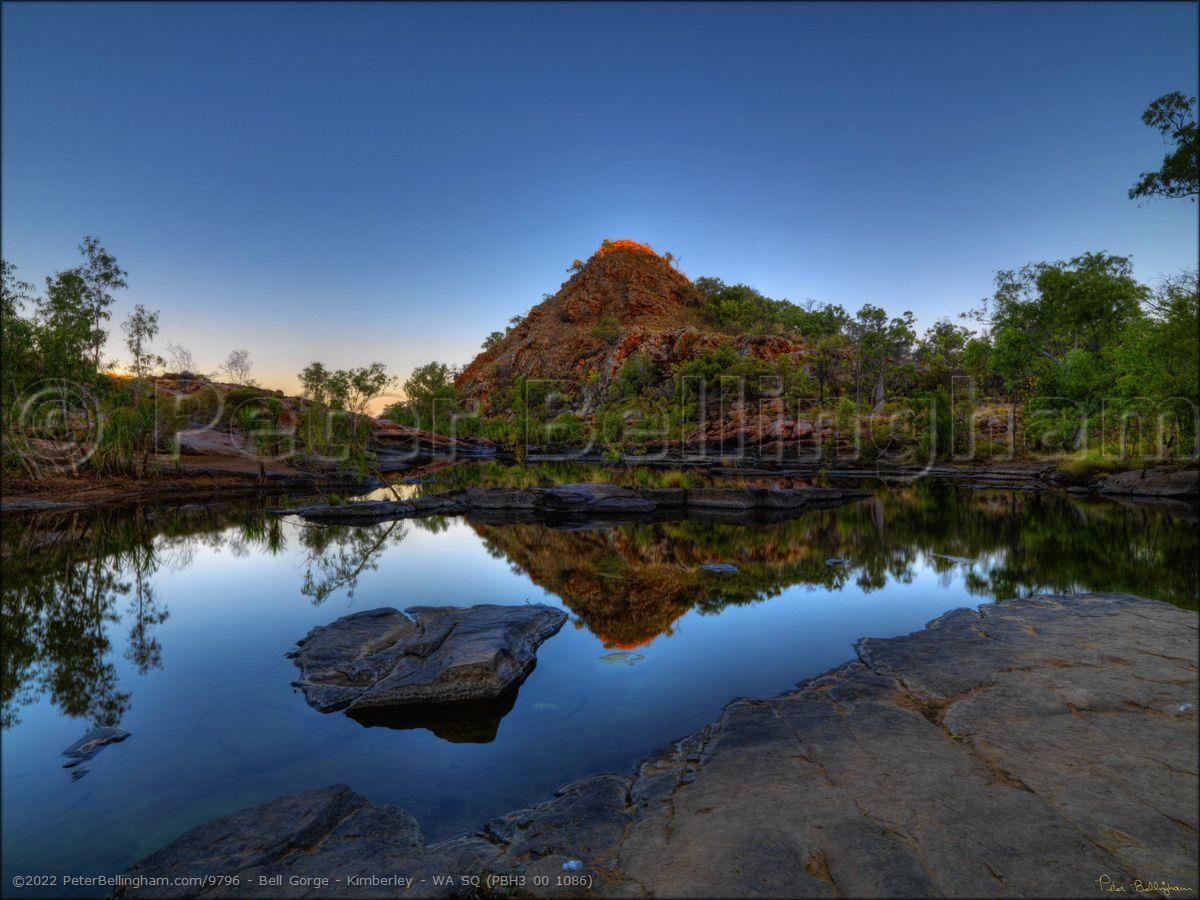 Peter Bellingham Photography Bell Gorge - Kimberley - WA SQ (PBH3 00 1086)