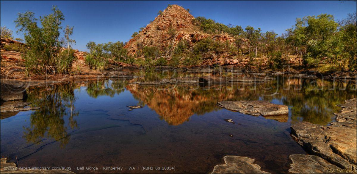 Peter Bellingham Photography Bell Gorge - Kimberley - WA T (PBH3 00 10834)