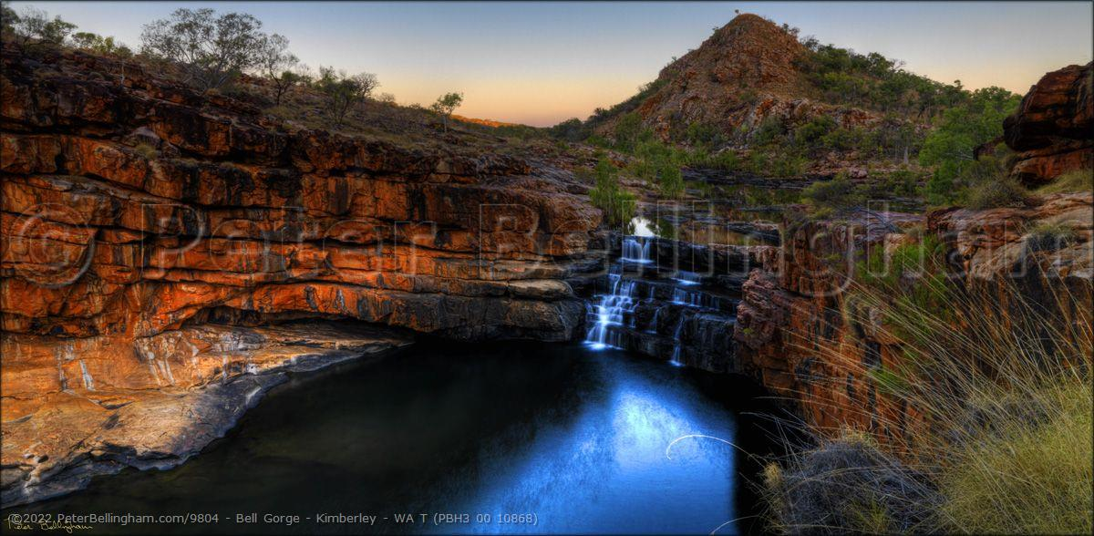 Peter Bellingham Photography Bell Gorge - Kimberley - WA T (PBH3 00 10868)